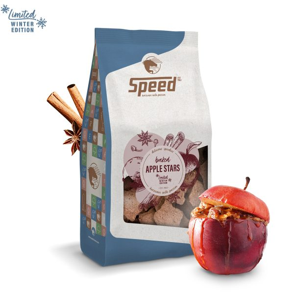 SPEED baked apple stars