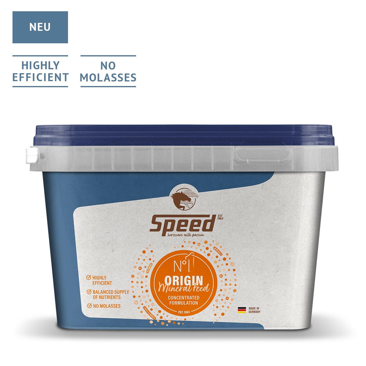 SPEED No. 1 ORIGIN - Mineralfutter für Pferde